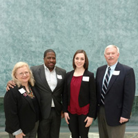 Outstanding Marketing Student Honored by Faculty at AMA Conference