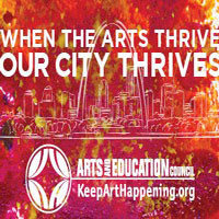 arts and education flyer