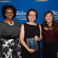 Bethany Keller Receives Student Organization Advisor Award