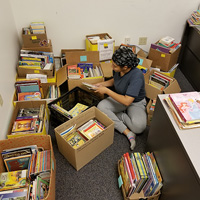 Student Literacy Corps Children's Book Drive Hits 21,750 Donated Books and Counting