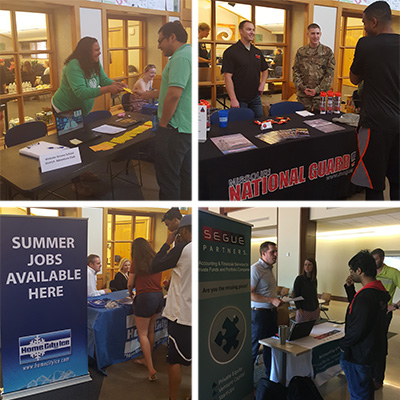 The Career Planning & Development Center Conclude Their Spring On Campus Recruiting Program
