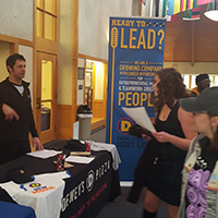 Local Recruiters Visit Webster for Fall On Campus Recruiting Program