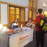 Local Companies Visit Webster Part of Campus Recruiting Program