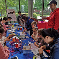 The Confucius Institute ran several activities during the weekend.