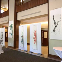 Confucius Institute Hosts Academic Conference, Art Exhibit