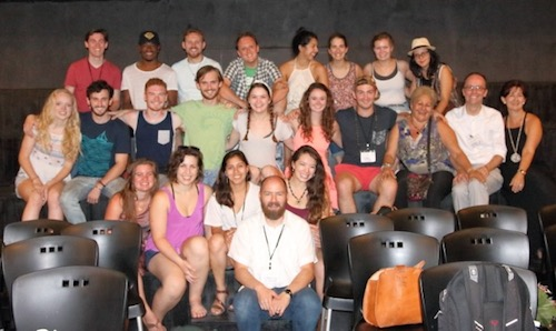 "Cast and crew of ""Big Love"" in Cuba"