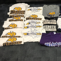 Webster Basketball Donates Shirts for Harvey Victims