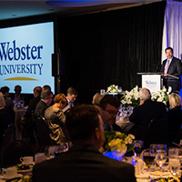 Snapshots, Video: Recognition Dinner Celebrates University, CMS Donors