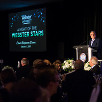 University Donors Honored at A Night of the Webster Stars