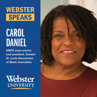 Replay: Media Veterans Carol Daniel, Eric Deggan Discuss Race and News on Webster Speaks