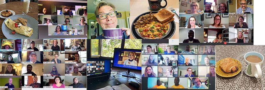 virtual breakfast