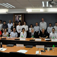 Zhang organized and presented in Hong Kong