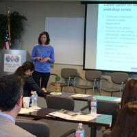 Webster Presents at Mosaic Project Workshop on International Student Services