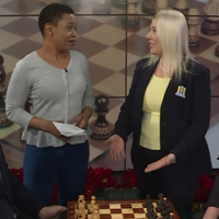 Chess head coach Susan Polgar on Fox 2's morning show