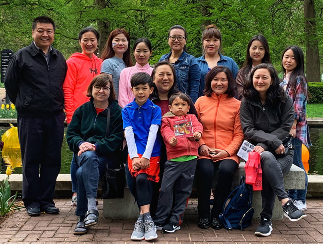 Participants from the Confucius Institute of Webster University