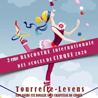 Circus Dance in Tourette-Levens, France