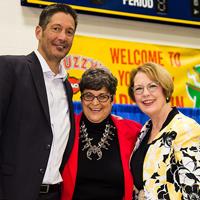 Andrea Rothbart celebrated the 55 year service milestone.