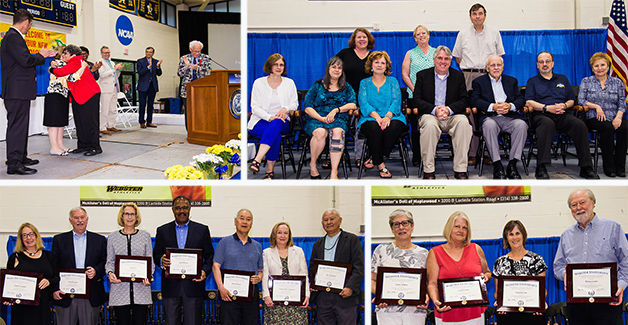 Faculty and staff honored at the recognition breakfast