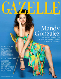 The April 2018 Gazelle cover highlights President Stroble