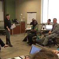 Nancy Hellerud led a session on understanding the Webster network