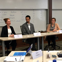 GLA fellows hear from a panel of students