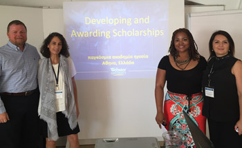 Presenting on Scholarships for GLA