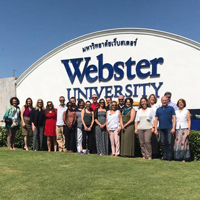 Director of Webster University Thailand Search Committee Formed