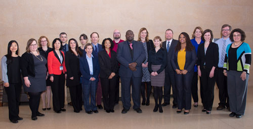 Fellows and directors of the 2016 Global Leadership Academy