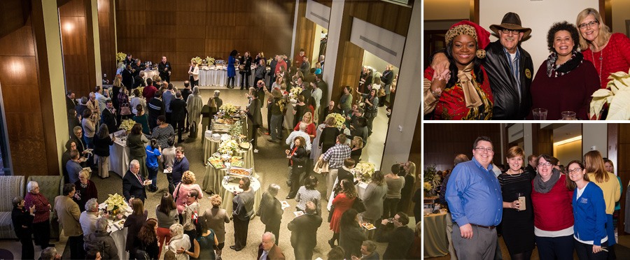 President and Provost's Faculty and Staff Holiday Party Dec