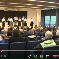'The Milly Project' performed at Webster University and was featured by Fox2 News.