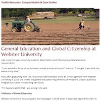 In the News: Global Citizenship Program spotlight; Link on careers
