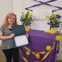 2018 Student Employment Supervisor of the Year