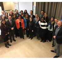 Snapshot: Stroble in Leiden on Women's Day, Bijlmer Project