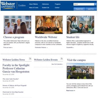 Webster the Netherlands Website Relaunched