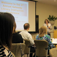 Library Hosts 45 for Gateway Instruction Conference