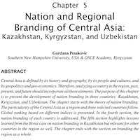 Pesakovic chapter on Central Asia