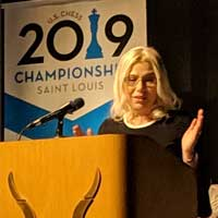 Chess Coach Susan Polgar Inducted into US Chess Hall of Fame