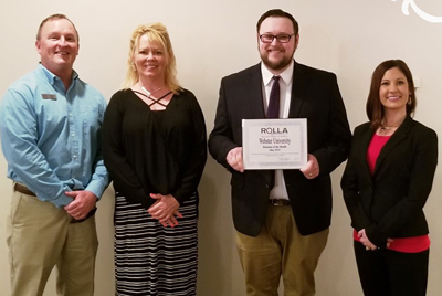 Webster Named Rolla Business of the Month