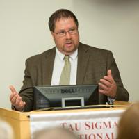 Jensen Selected as 2020-21 President's Faculty Fellows