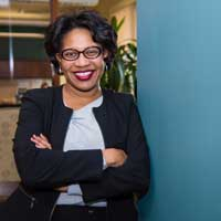 Simone Cummings, dean of the George Herbert Walker School of Business and Technology, received a C-Suite award from the St. Louis Business Journal earlier this month.