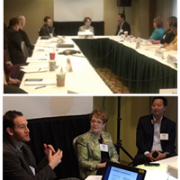 President Stroble on panels at the ACE conference