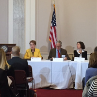 Webster President Speaks before U.S. Senate Caucus