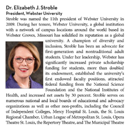 In the News: Stroble on 'Top Women in Higher Education,' Polgar HOF induction, more