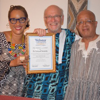 Ghana Campus Salutes Suransky on Retirement after 17 Years with Webster