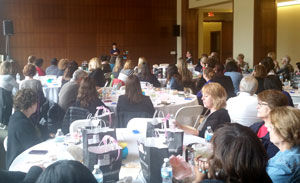 The keynote luncheon highlighted Webster Staff Alliance Professional Development Day.