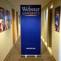 Vertical University Banners Available For Use