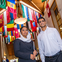 Fulbright Scholars from Afghanistan Pursue Ambitions at Webster University