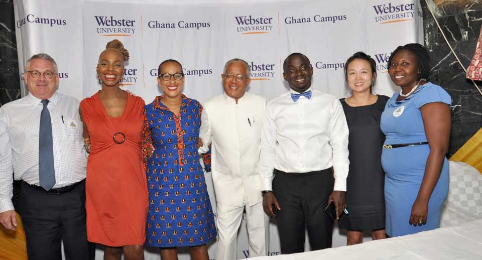 The Ghana campus held a Global Citizenship Cafe with leaders in several disciplines as part of a centennial celebration