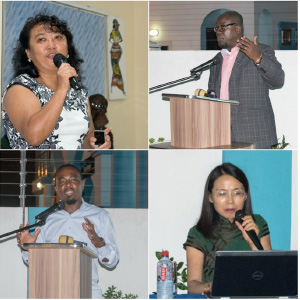 Speakers in the Webster Ghana lecture series