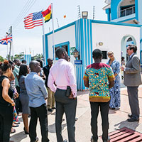 New Ghana Campus Ribbon Cutting Ceremony